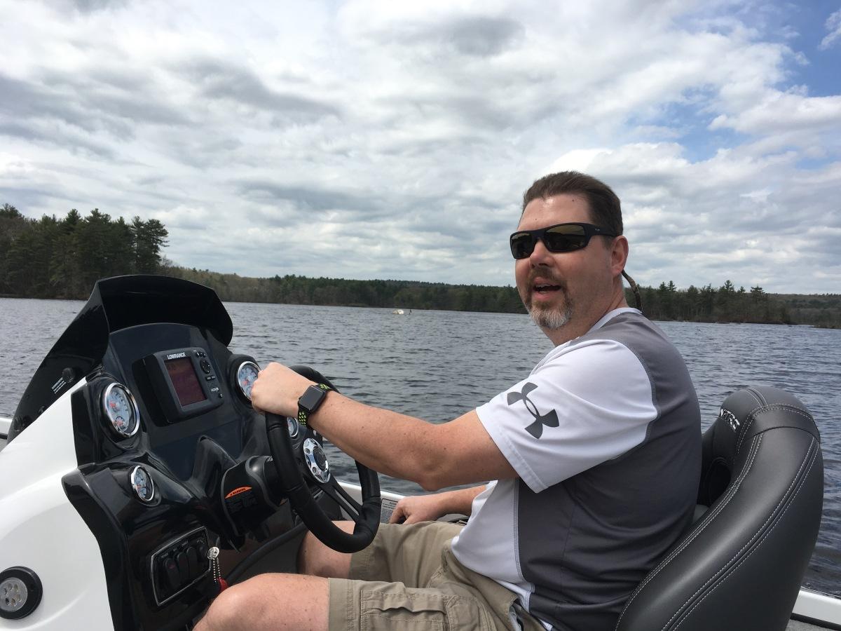 Got myself a new Nitro Z-18 Bass Boat!